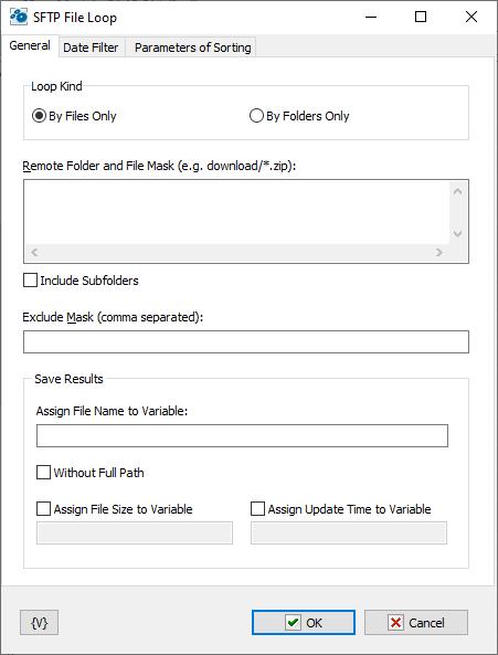 SFTP File Loop - RoboTask User's Guide