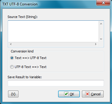 TXT UTF-8 Conversion - RoboTask User's Guide
