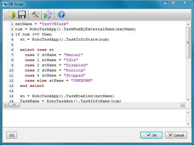 VB Script - RoboTask User's Guide